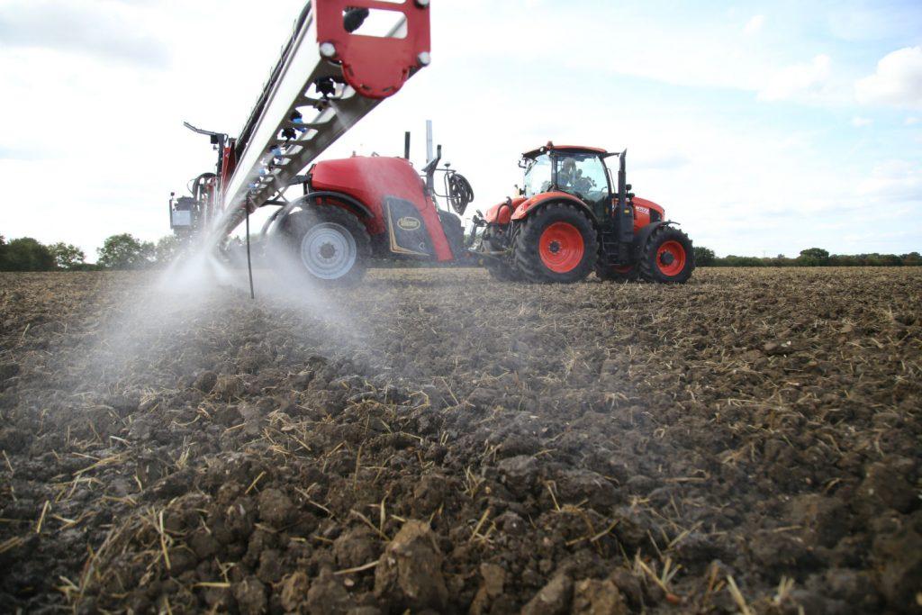 Applying pre-emergence herbicides