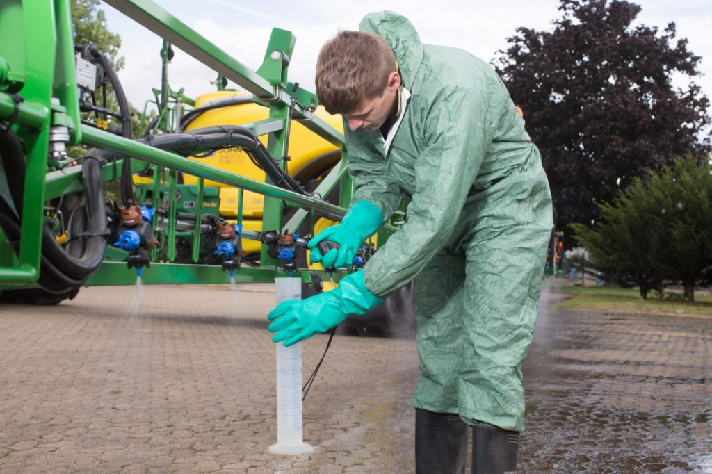 sprayer testing