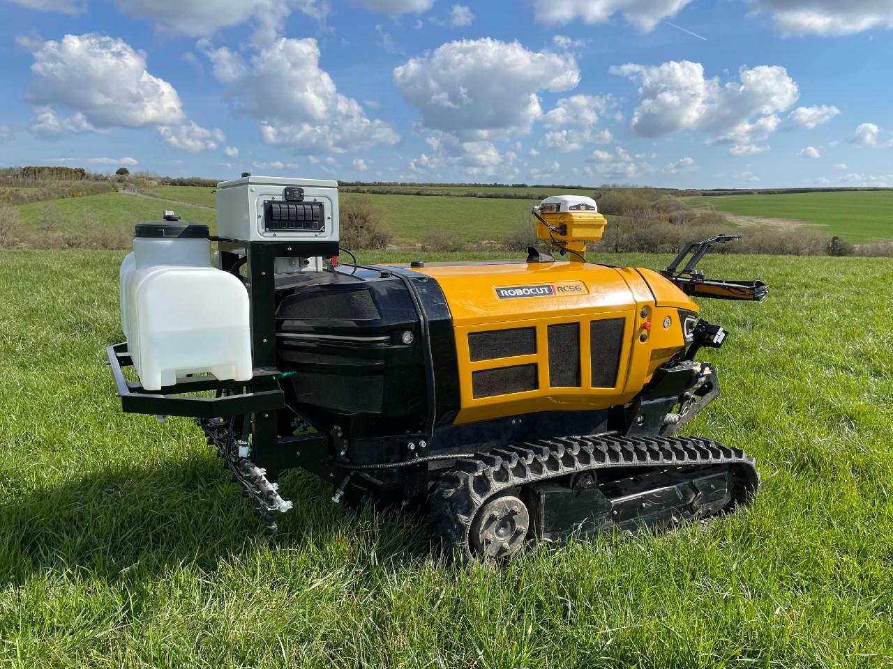 McConnel autonomous spot sprayer