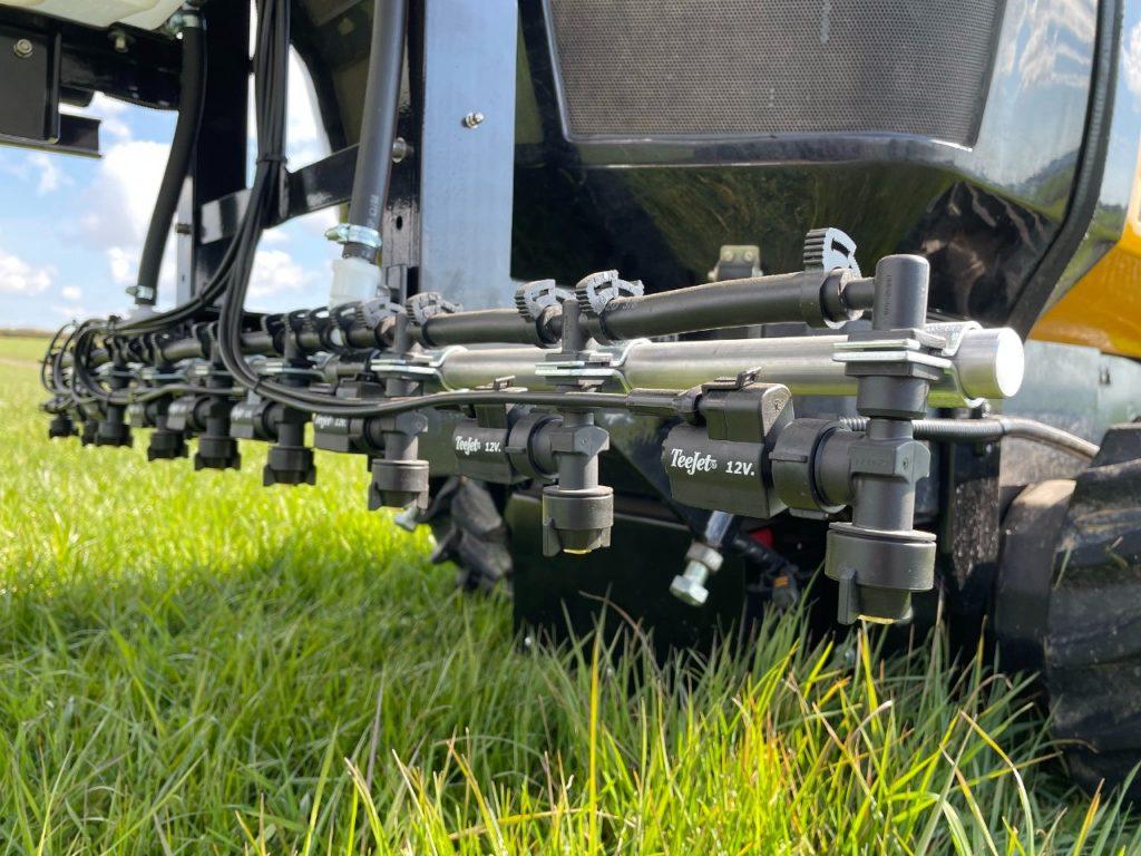 McConnel autonomous spot spraying